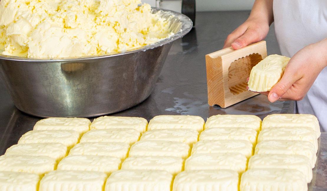 Selbstgemachte Butter Hansl Hof bei Waldmünchen